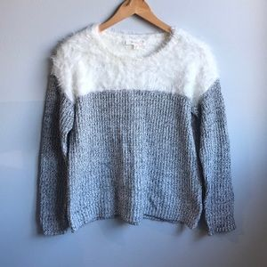 Two by Vince Camuto Fuzzy Sweater